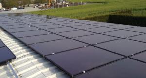 Cadmium Telluride (CdTe) solar panel