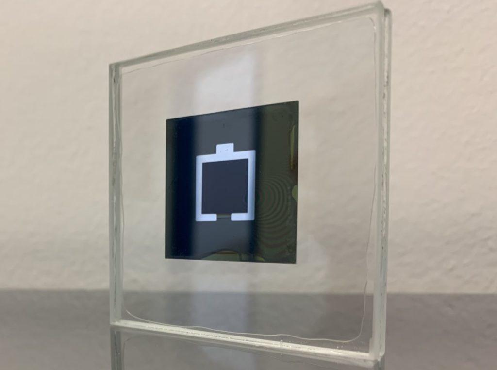 Perovskite/silicon tandem cell Image: Eike Köhnen/HZB