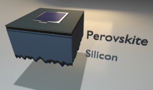 Structure of the record-breaking perovskite and silicon cell Image: Eike Köhnen/HZB