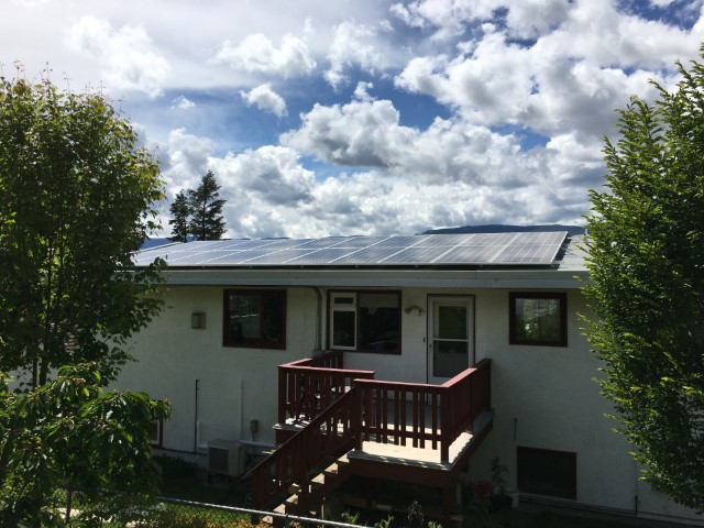 Installation A+ Solar Solutions in Salmon Arm