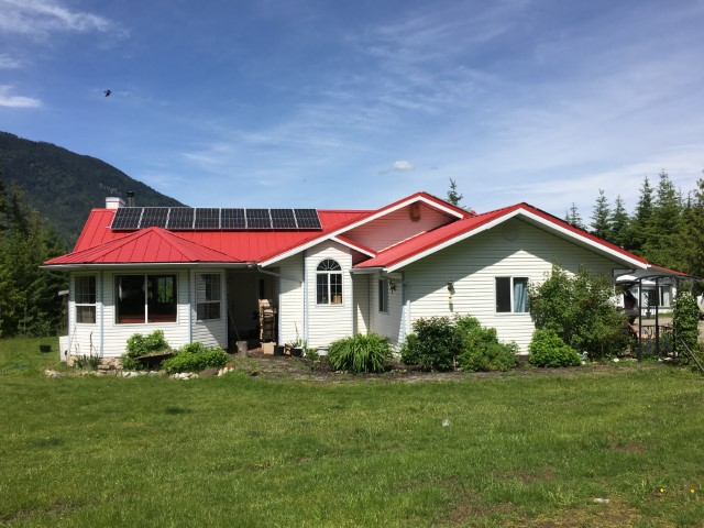 Installation A+ Solar Solution in Eagle Bay